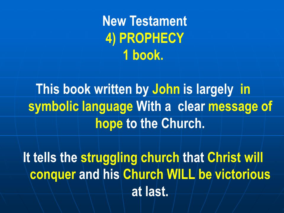 SO THE IMPORTANCE OF ACTS CHAPTER 2 The division between Old Testament / New Testament is an artificial one based on the already written Old Testament and the New writings by the followers of Jesus.