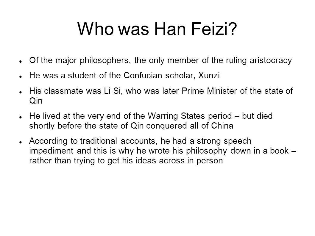 Who was Han Feizi.
