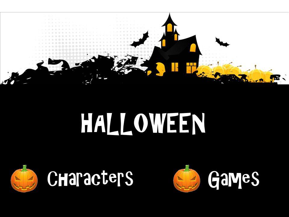 HALLOWEEN Characters Games