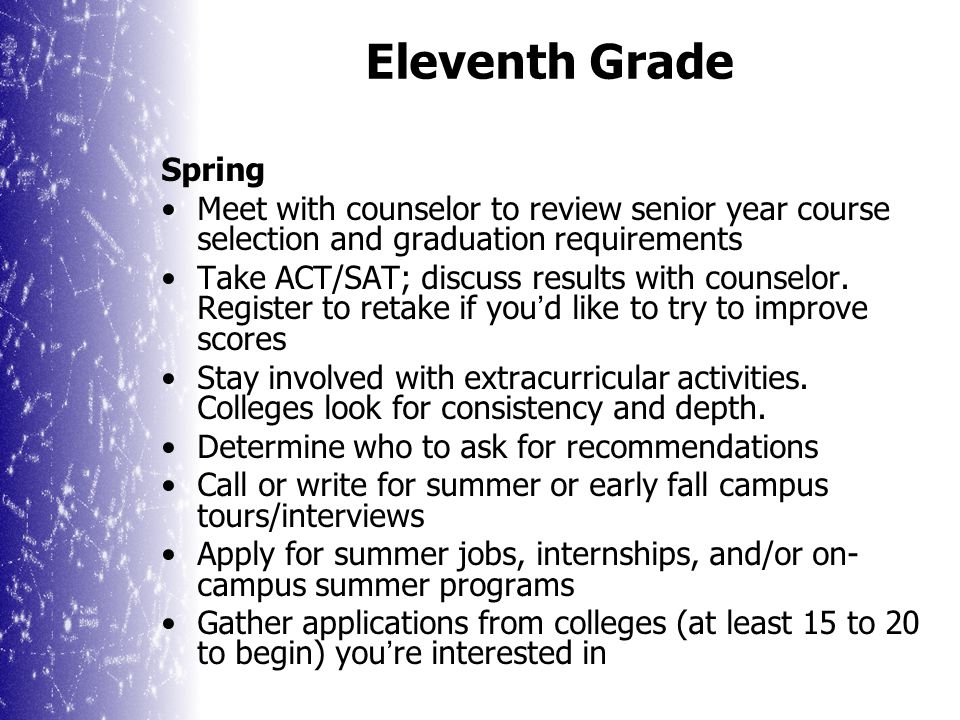 Setting Up a Tour or Interview Call the college (usually admissions office or visitor center) to set up an appt.