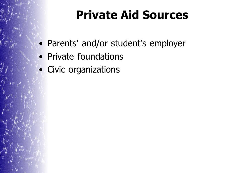 Other Financial Aid