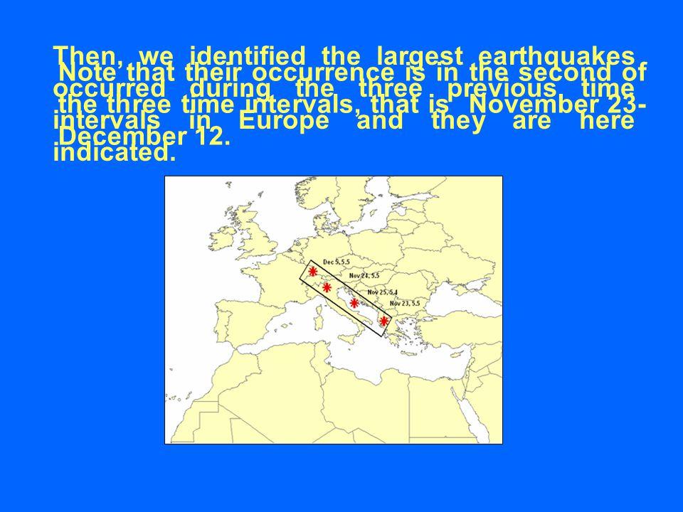 CONCLUSIONS The VLF/LF radio signals present disturbances related to seismicity.