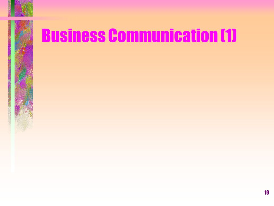 19 Business Communication (1)