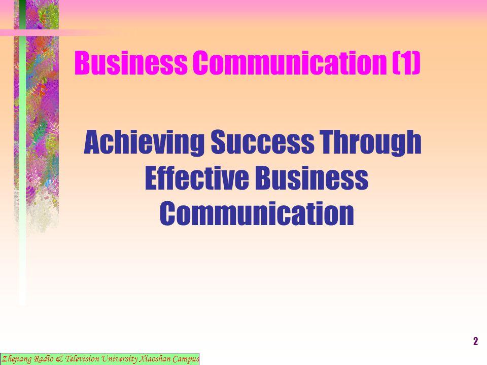 13 Business Communication (1) 9.