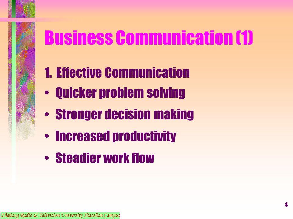 15 Business Communication (1) 11.
