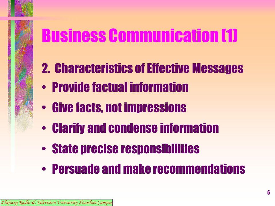 17 Business Communication (1) 13.