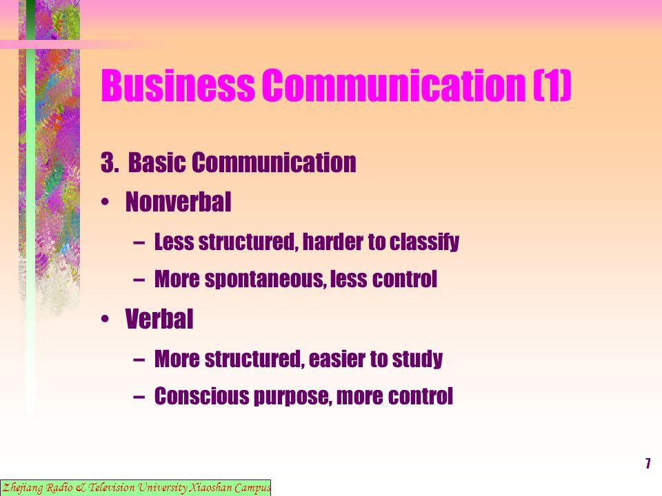 18 Business Communication (1) 14.
