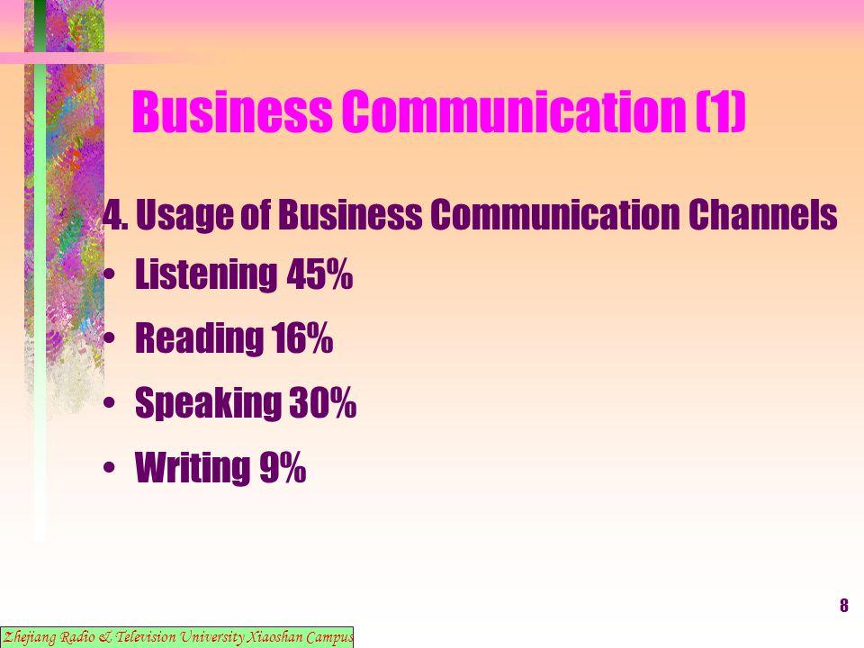 9 Business Communication (1) 5.