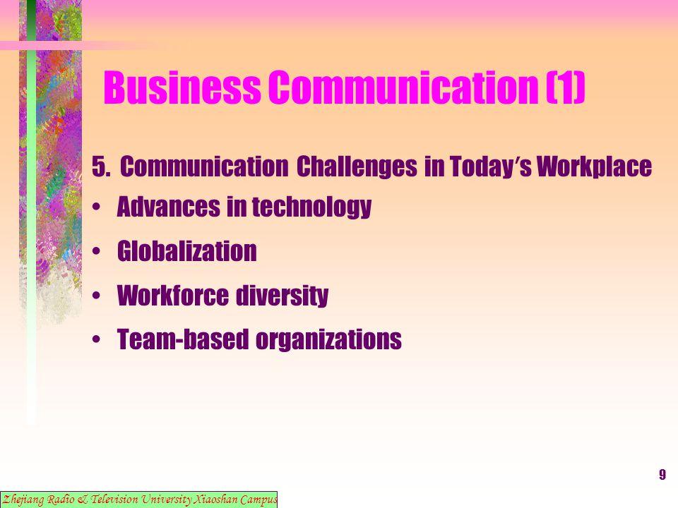 10 Business Communication (1) 6.