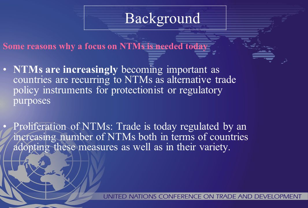 Using the classification to collect NTMs The classification greatly simplifies data collection.