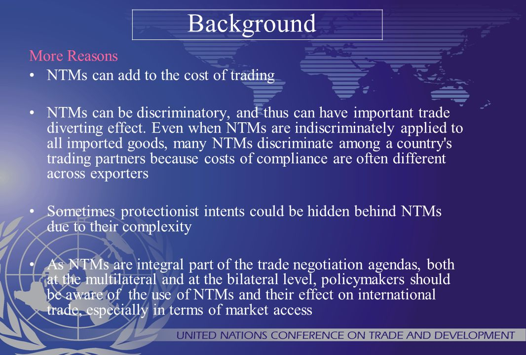 GUIDELINES TO COLLECT NTMs Identifying Regulations from each Document A document may contain one or several regulations.