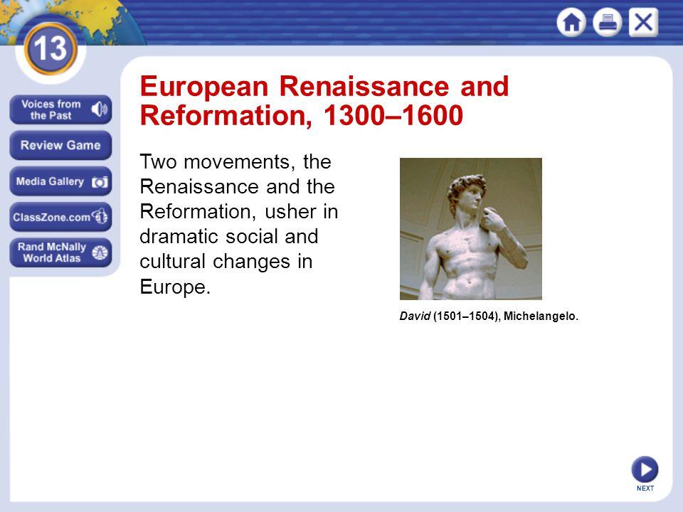 NEXT David (1501–1504), Michelangelo.