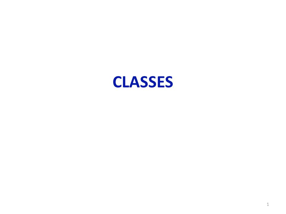 2 Class Fundamentals It defines a new data type Once defined, this new type can be used to create objects of that type A class is a template for an object, and an object is an instance of a class