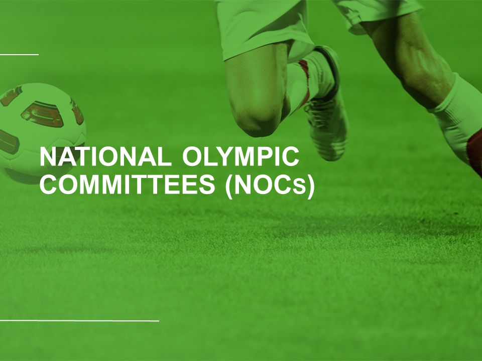 NATIONAL OLYMPIC COMMITTEES (NOC S )