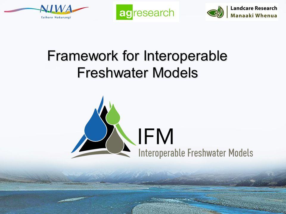 Framework for Interoperable Freshwater Models