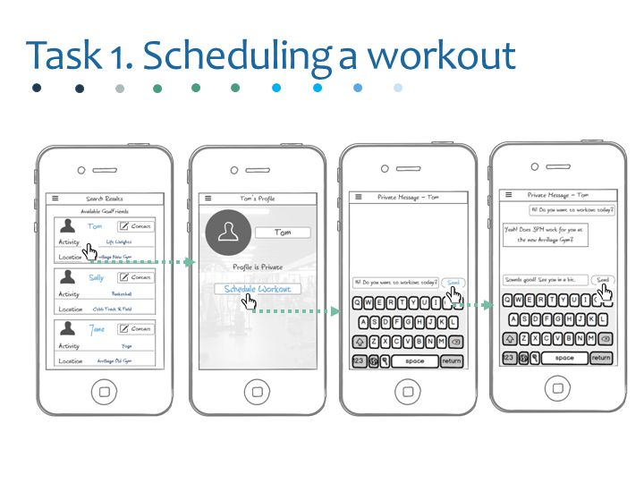 Task 1. Scheduling a workout