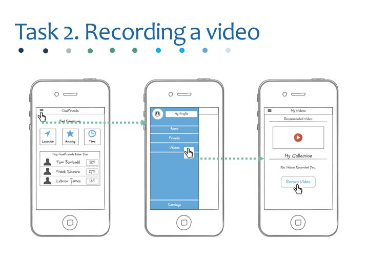 Task 2. Recording a video