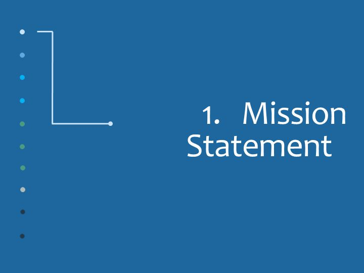 1.Mission Statement