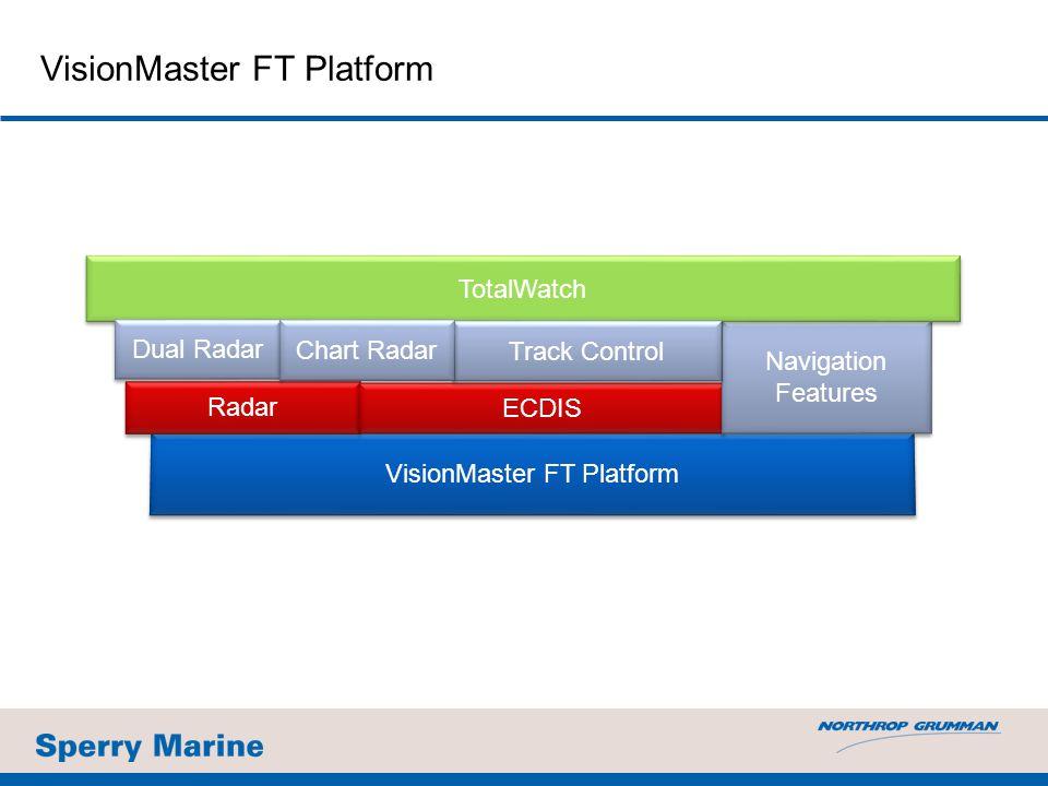 VisionMaster FT Platform Radar ECDIS Navigation Features TotalWatch Dual Radar Track Control Chart Radar