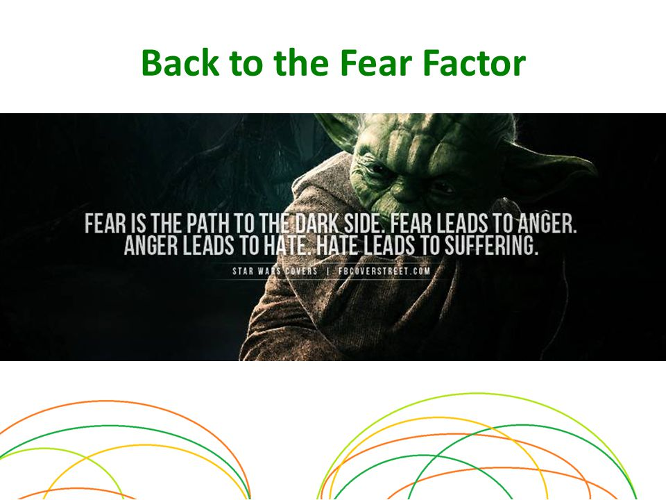Back to the Fear Factor