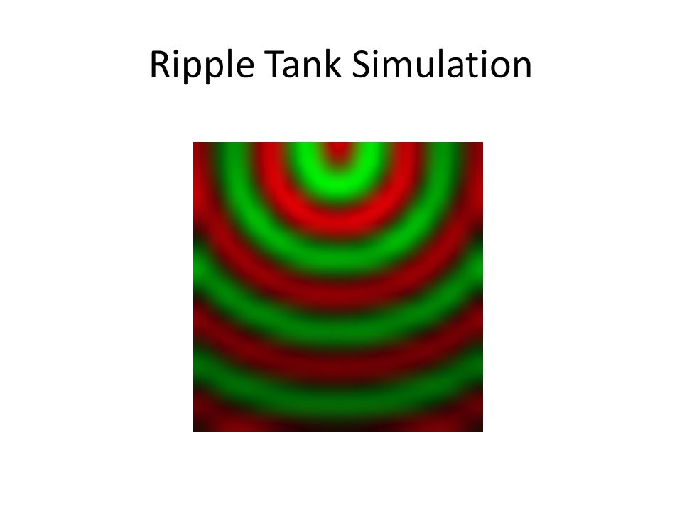 Ripple Tank Simulation