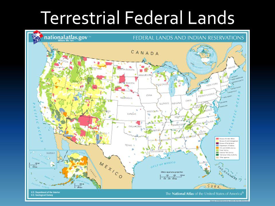 Terrestrial Federal Lands