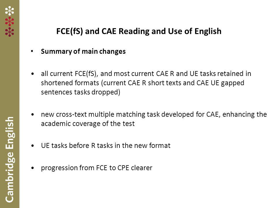 CAE Part 3