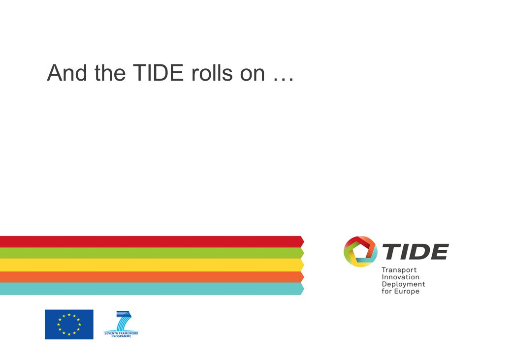 And the TIDE rolls on …