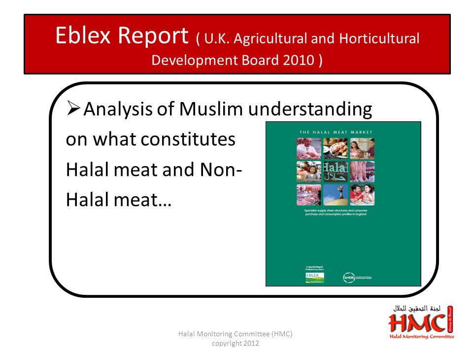 Eblex Report ( U.K.