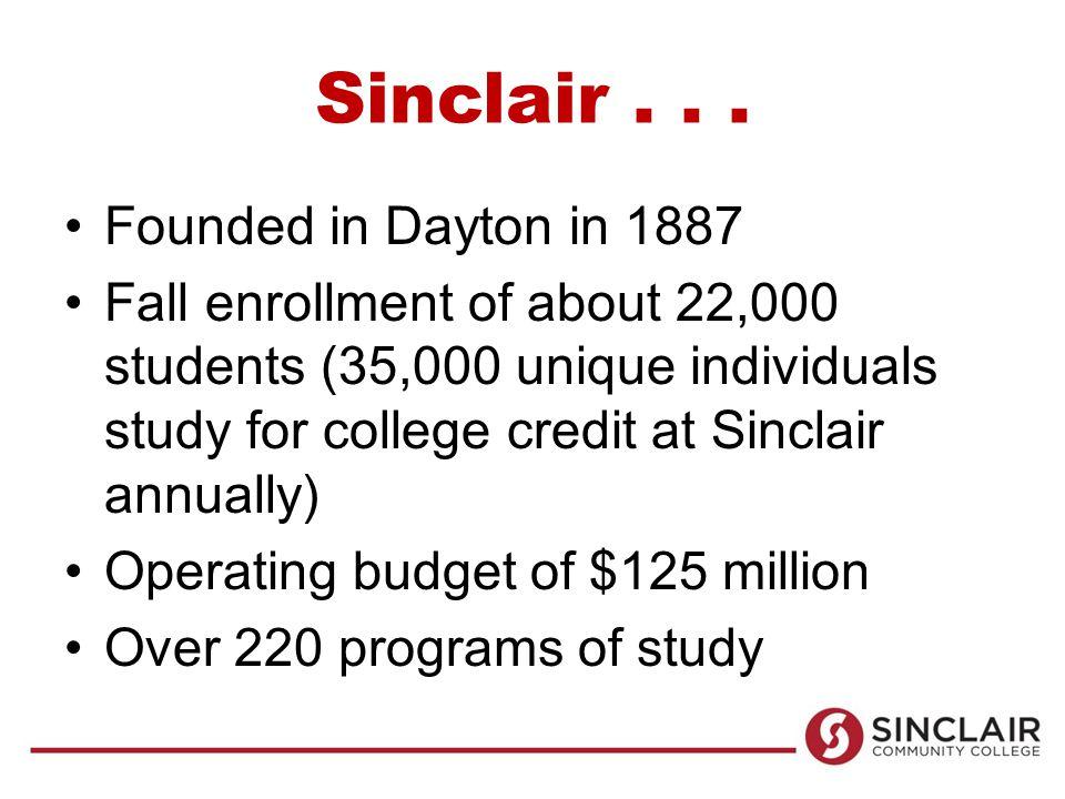 Sinclair...