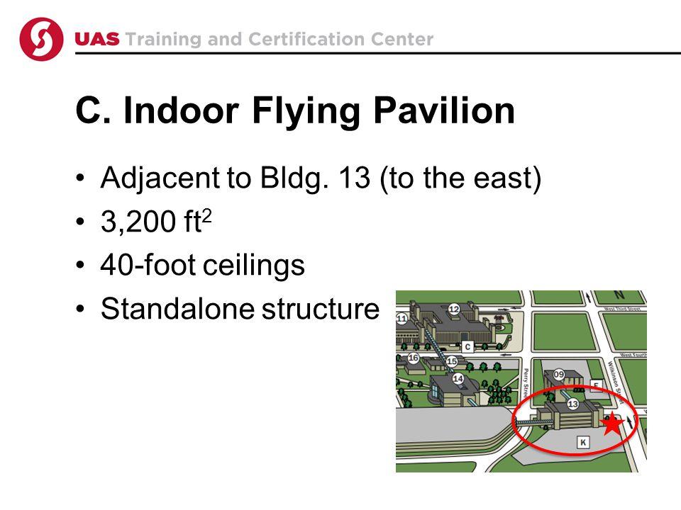 C. Indoor Flying Pavilion Adjacent to Bldg.