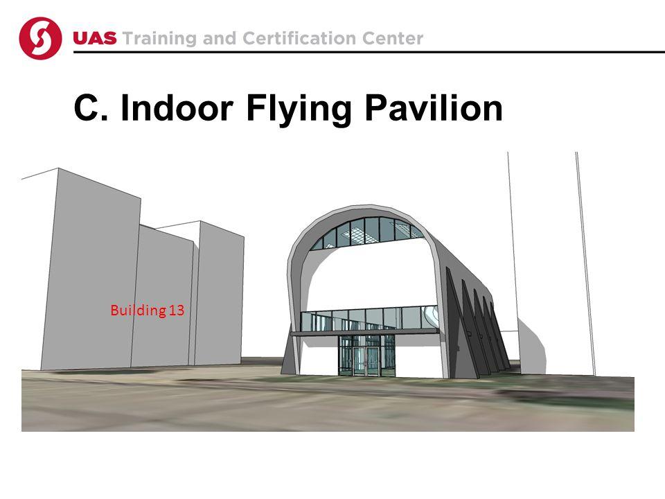 C. Indoor Flying Pavilion Building 13