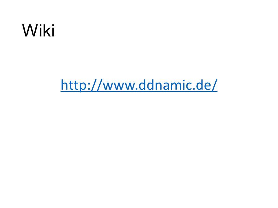 Wiki http://www.ddnamic.de/