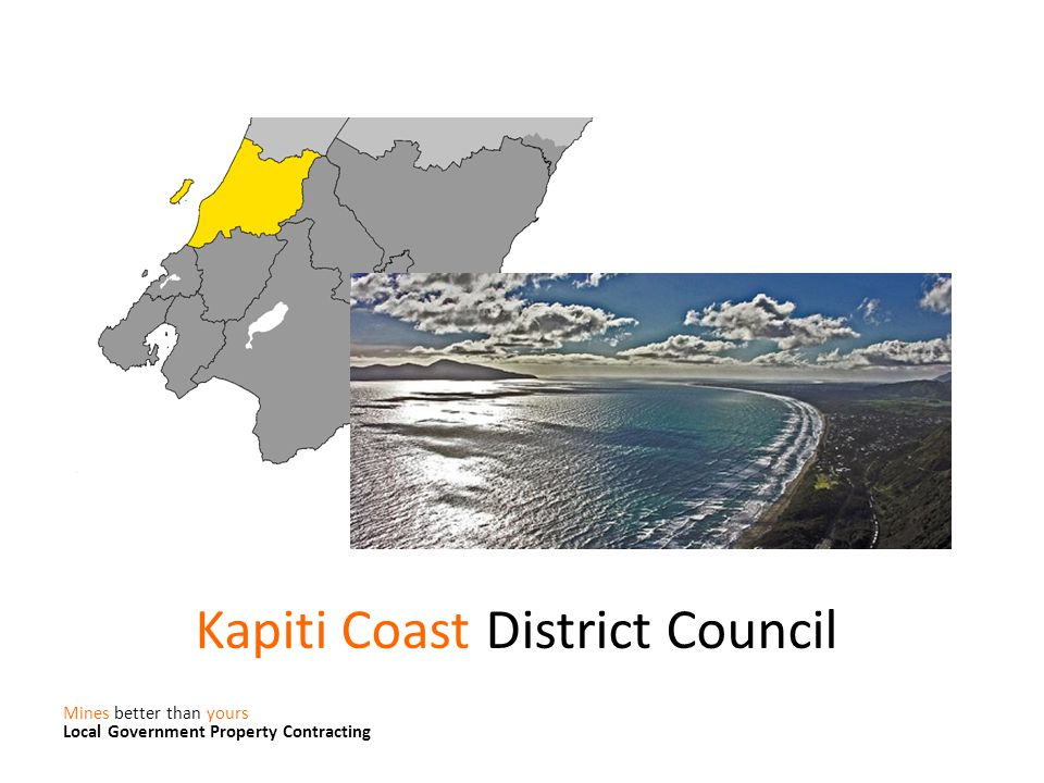 Kapiti Coast District Council Mines better than yours Local Government Property Contracting