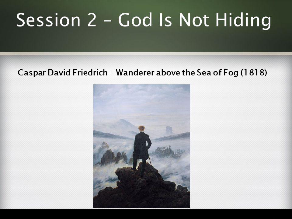 Caspar David Friedrich – Wanderer above the Sea of Fog (1818)