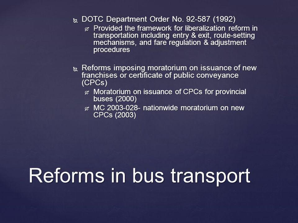  DOTC Department Order No.