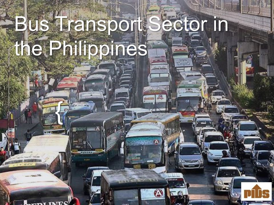 { Bus Transport Sector in the Philippines