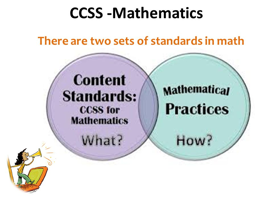  Counting and Cardinality (K only)  Operations in Algebraic Thinking  Number and Operations in Base Ten  Measurement and Data  Geometry  Number and Operations-Fractions (grades 3-5) The 'What' of the CCSS