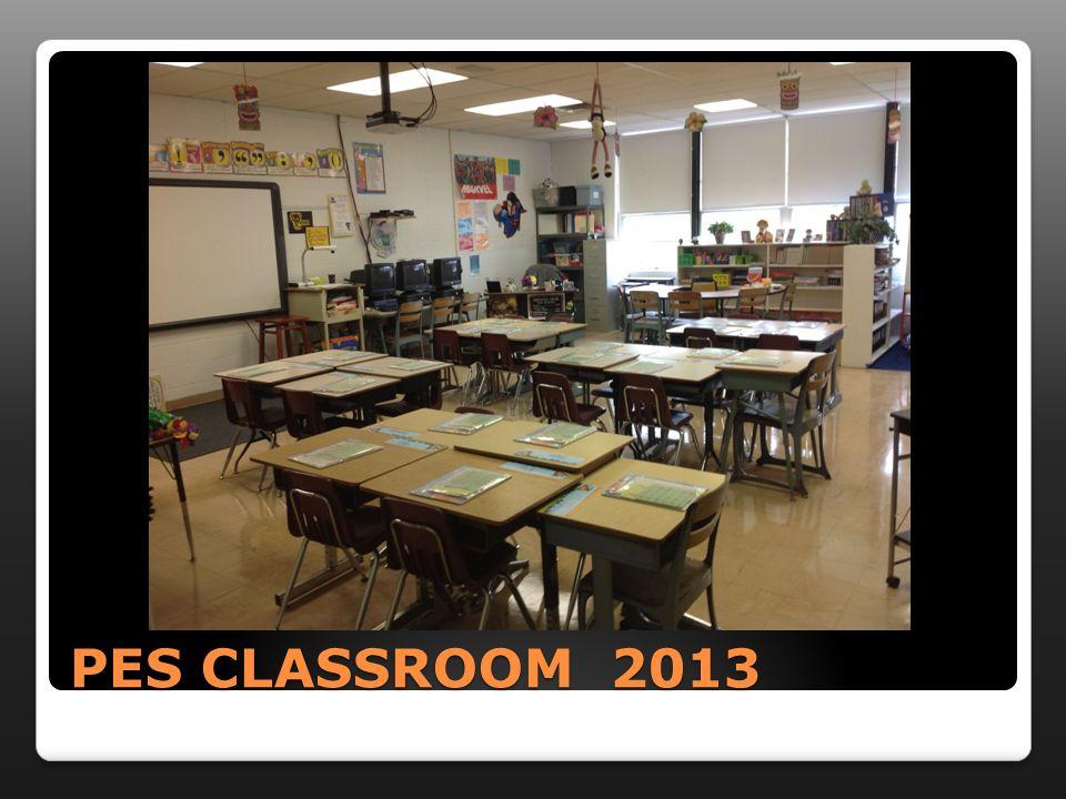 PES CLASSROOM 2013