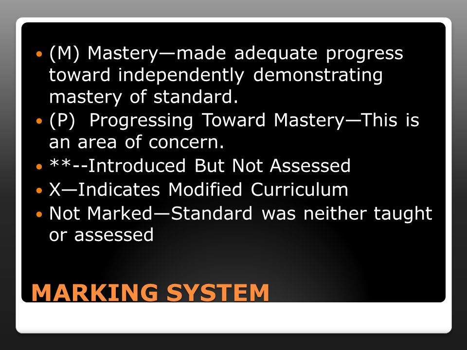 STANDARDS-BASED GRADING A focus on mastering content STANDARDS instead of a grade.