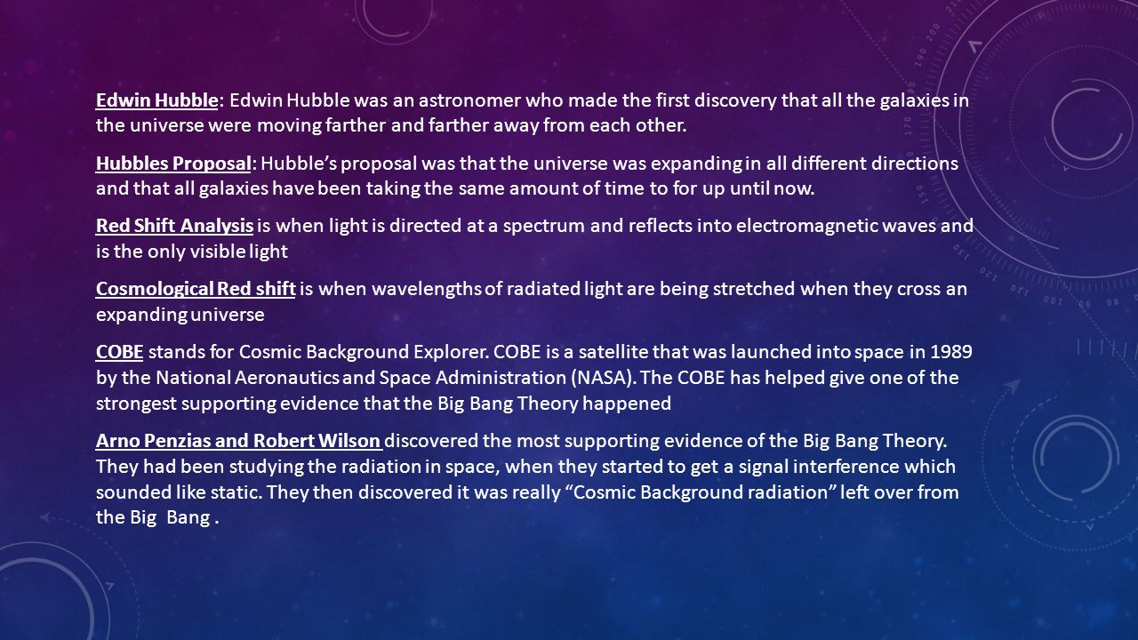 Georges Lemaître was a Belgian priest who had first discussed the Big Bang Theory in 1927.