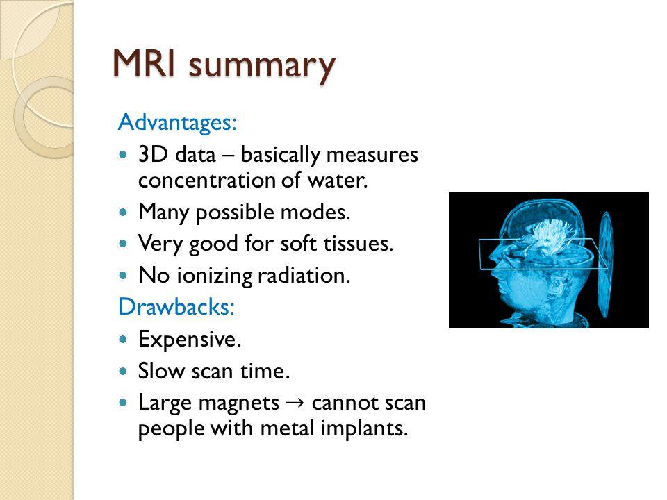 MRI summary
