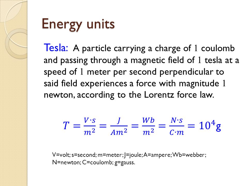 Lorentz force