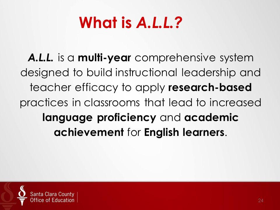 What is A.L.L.. A.L.L.