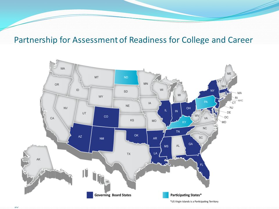 Partnership for Assessment of Readiness for College and Career (PARCC) 16