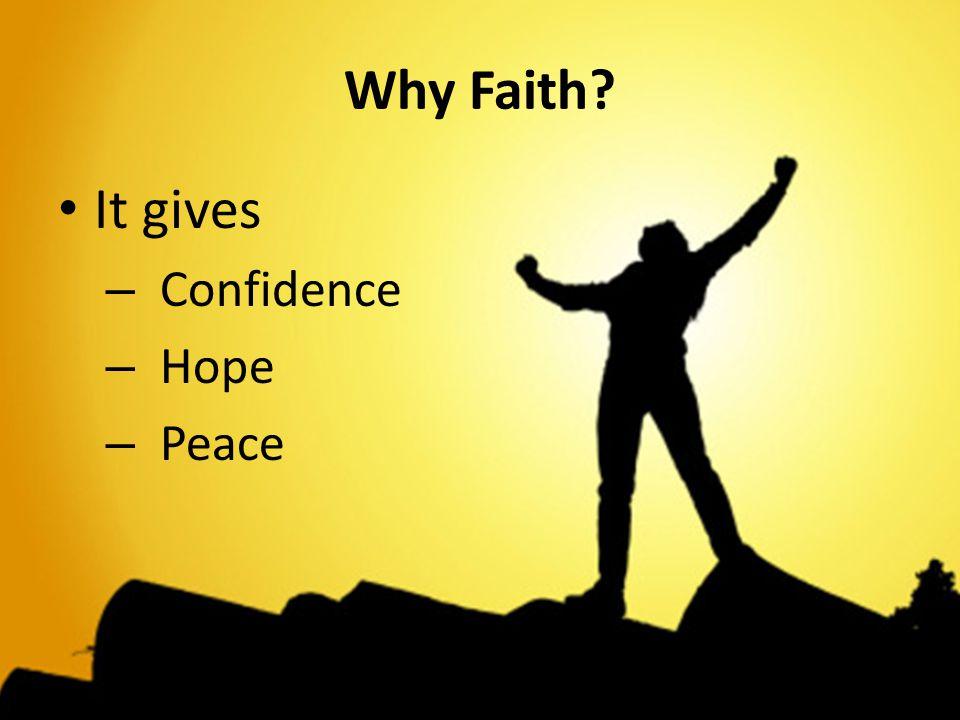 Sri Sathya Sai Seva Organization www.saiyouth.org Why Faith? It gives – Confidence – Hope – Peace