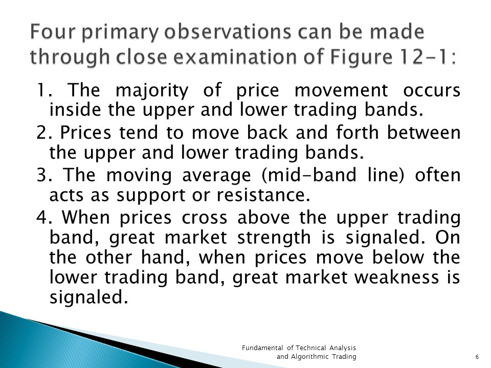  There is no set number of periods to use for the simple moving average or number of standard deviations above and below that work best in all markets and for all investment time horizons.
