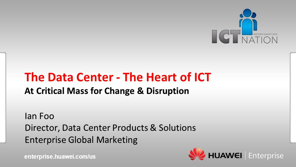 Huawei EnterprisePage 12 Customer-oriented R&D Customer driven requirements Customer input development models Massive Global R&D Investments 10% of income invested in R&D annually 8,000+ R&D Staff; over 80,000 engineers Globally Distributed R&D Facilities: U.S., Canada, China, India, Europe, New Zealand Standards & Patents 35,773 patent applications Active contributor in 91 international standards organizations A Focus on Customers, Industry Contribution, and R&D