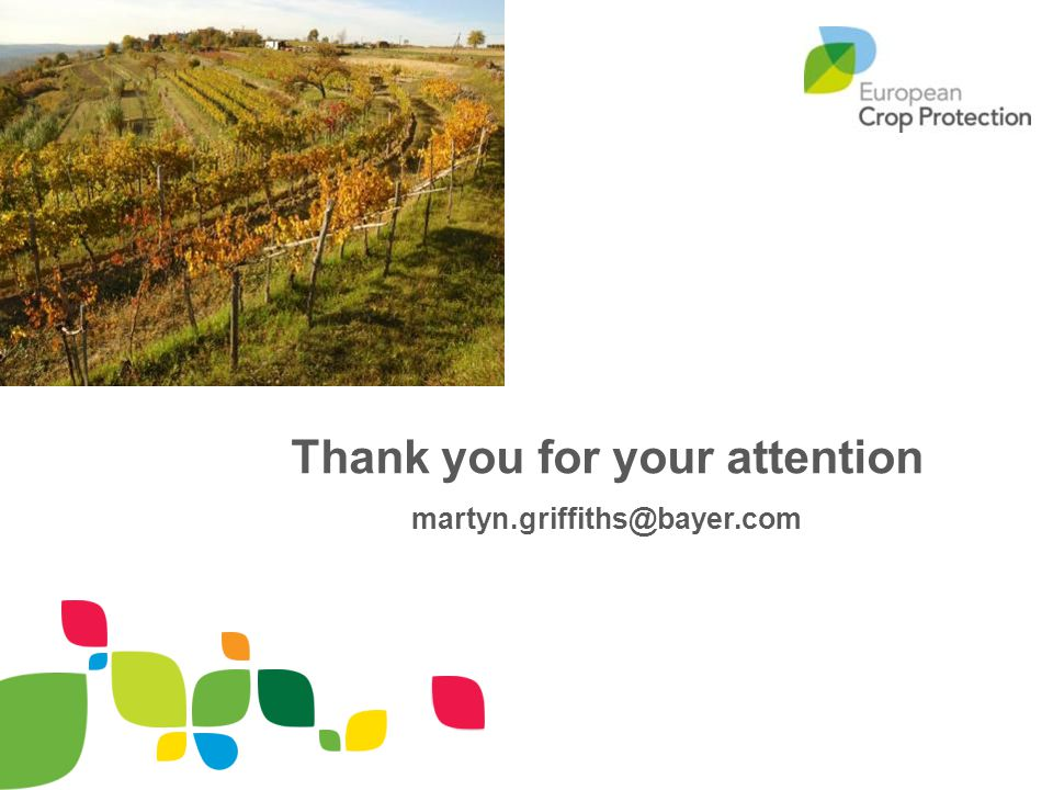 Thank you for your attention martyn.griffiths@bayer.com