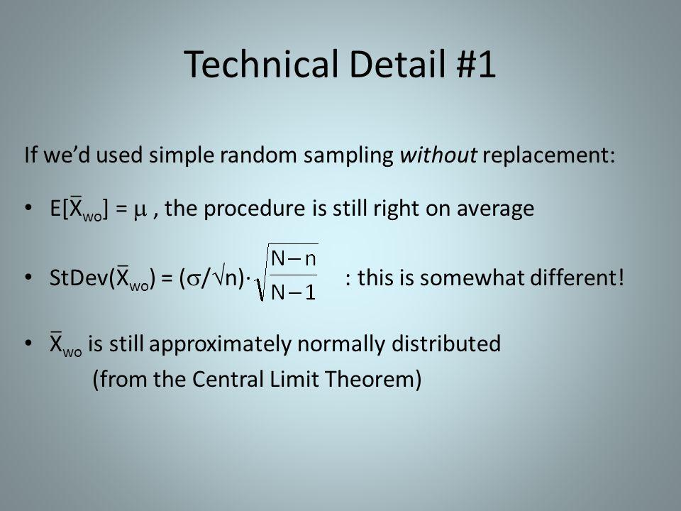 Technical Detail #1